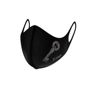 Mascherina Mod.Fashion Chiave strass donna con filtro