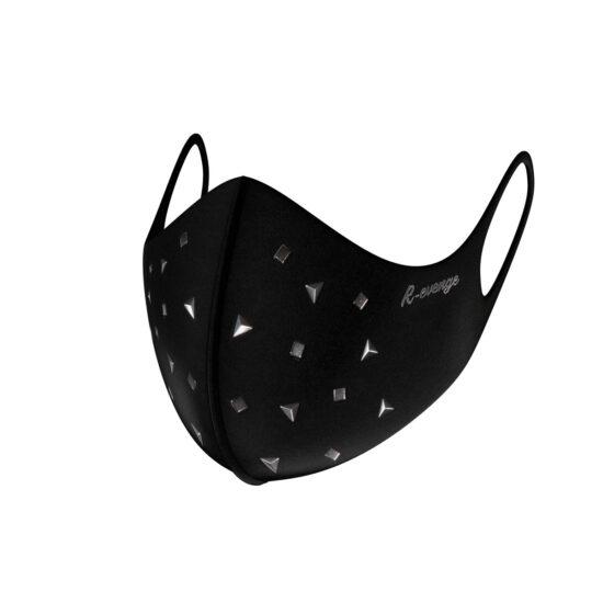 Mascherina Mod.Fashion borchie triangolo donna con filtro