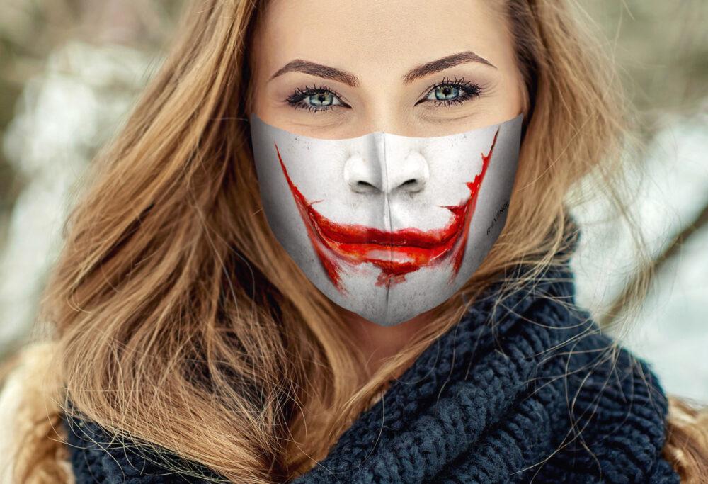 Mascherina Mod.Joker Donna