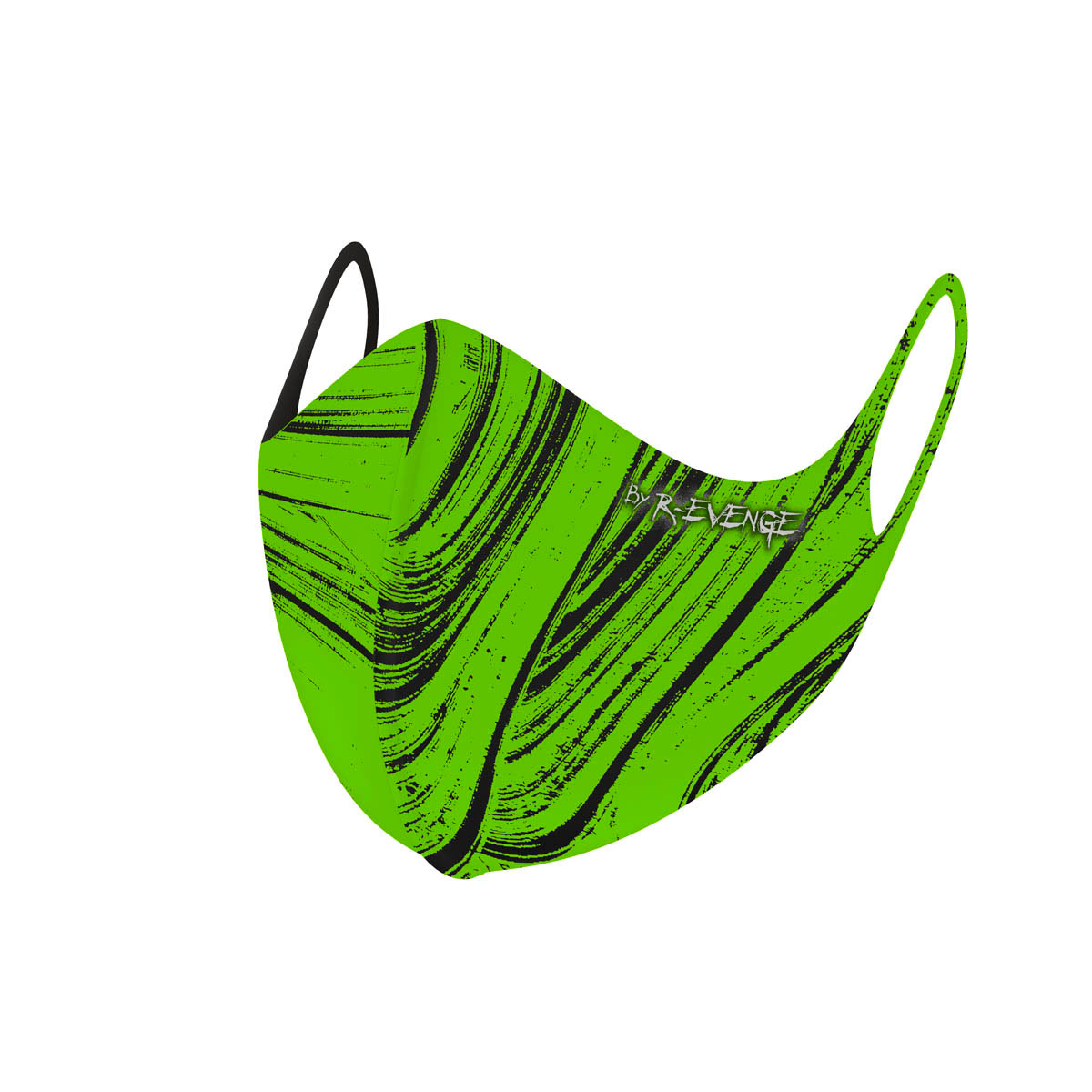 Mascherina Mod.Brush Verde unisex