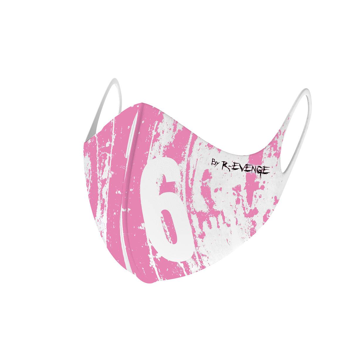 Mascherina Mod.Wall 6 rosa donna