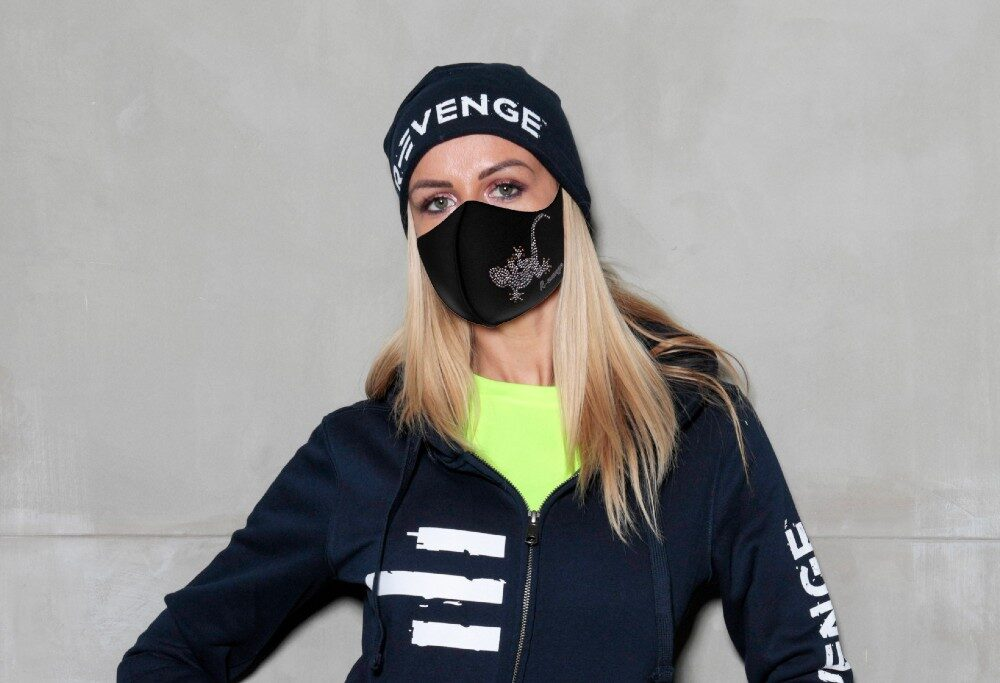 Mascherina Fashion Mod.Geco Donna con filtro antibatterico
