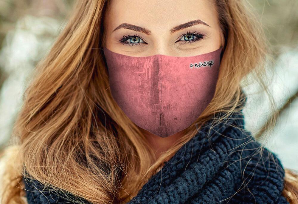 Mascherina Mod.Incision rosa donna
